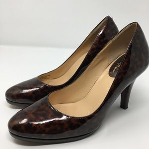 Cole Haan 6.5 Nike Air Cheetah Patent Leather Pump
